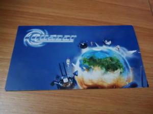 Оригинальный дизайн визитки менеджера Quazar